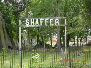 Shaffer Cemetery by Craig Shaffer