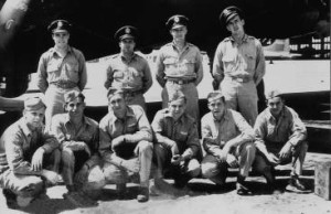 Chief Sly II Joel Gatewood Crew before their mission