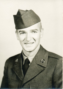 Norb Shaffer, enlistment photo